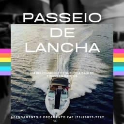 PASSEIO DE LANCHA SALVADOR