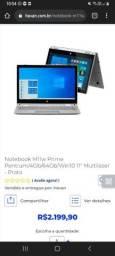 Título do anúncio: Notebook troco em ps4 .