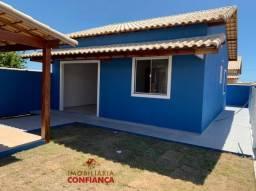 mn= Linda casa pronta para morar em Unamar com 2 quartos e área gourmet .