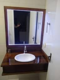 Vendo pia banheiro em canela completa