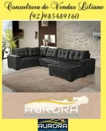 Título do anúncio: sofá de canto ((**&