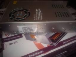 Fonte chaveada 12v a 14.4v 50 amperes