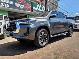 Título do anúncio: Júnior Veículos - Toyota Hilux SRV 2.8 4x4 Diesel 2019/2019, 116 mil km (LIBERADA)