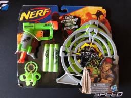 Nerf Zombie com alvos