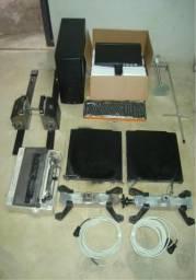 Alinhador computadorizado, alinhamento Laser digital, balanceador, balanceamento.
