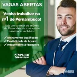 Estamos selecionando Corretores/Vendedores para atuação na região de Igarassu!!Confira!!