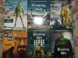 Breaking Bad coleção completa 21 DVDs