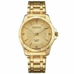 87731a1ca89 Relógio Chenxi Gold Luxo