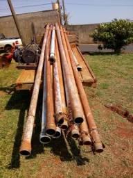 Canos de irrigação 4 polegadas