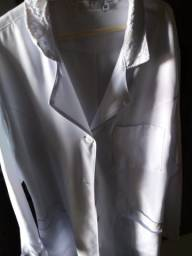 Usado, Jaleco branco comprar usado  Volta Redonda