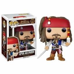 Capitão Jack Sparrow Pop! Piratas do Caribe Disney 172 Captain Jack Sparrow comprar usado  Curitiba