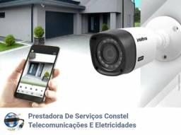 Eletricista Câmera de Segurança Alarme Interfone Central Telefônica Placa Solar
