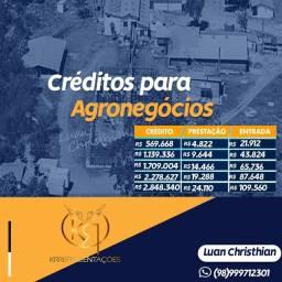 Créditos para agrenócios