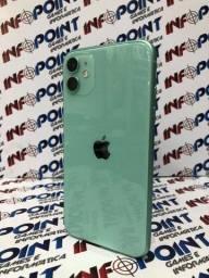Oportunidade iPhone 11 128GB verde - seminovo - aceito seu aparelho usado na troca
