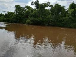 Chacara na beira do rio do peixe a 110 km de goiania 30.000 metros em cristianopolis