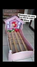 Montagem de cama infantil