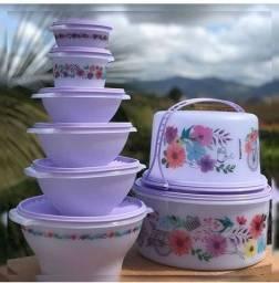 Kit primavera Tupperware