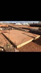 Mezanino em chapa Inox