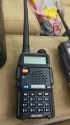 rádio baofeng UV5R com carregador