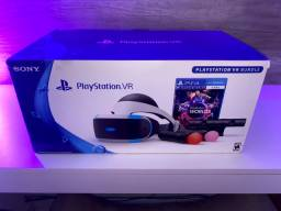 PS VR Playstation VR Completo + 3 jogos
