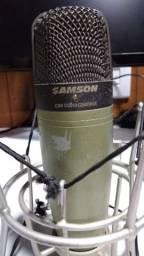 Microfone Condensador Samson C01 (estúdio, Locução)