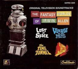 Box 6 Cds The Fantasy Worlds Of Irwin Allen super raro
