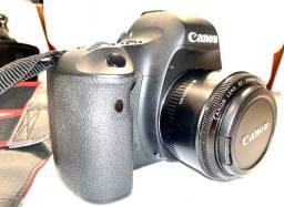 Cânon EOS 6D + Lente 50mm 1.8