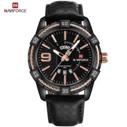 Relógio Masculino Naviforce N9117 prova d'agua Original