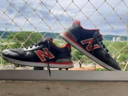 Tênis New Balance (vermelho/preto ) semi-novo