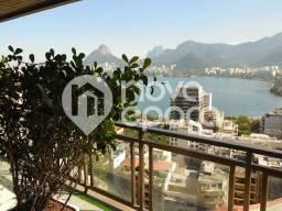 Apartamento à venda com 5 dormitórios em Lagoa, Rio de janeiro cod:CO5AP28814