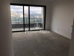 Flat de alto padrão disponível no VHouse por JFL Living, com 1 dormitório, 46 m² e 1 vaga
