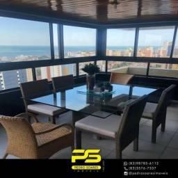 Apartamento com 4 dormitórios à venda, 238 m² por R$ 1.250.000 - Manaíra - João Pessoa/PB
