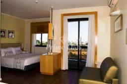 Flat para locação no Blue Tree Towers Anália Franco com 1 dormitório, e 1 vaga!