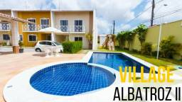 CD 080, Itaperi, casa duplex nova em condomínio com 02 quartos, piscina