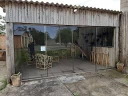 Velleda oferece galpão + casa em local comercial, frente a RS 040