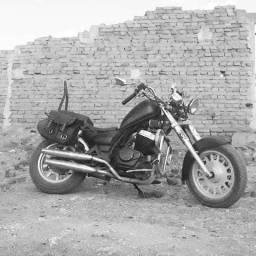 Moto customizada - 2008