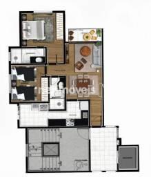 Apartamento à venda com 2 dormitórios em Cabral, Contagem cod:745187