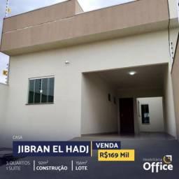 Casa com 3 quartos - bairro jibran el hadj em anápolis