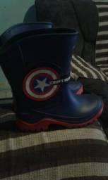 Bota Marvel Capitão america