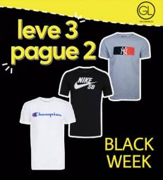 Black Week de camisetas