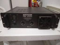 Amplificador Wattsom DBL 6000 usado
