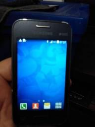 Celular Sansung Galaxy para venda.prodduto sem defeito muito bom.bateria dura muitos dias.
