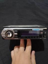 Rádio toca cd Sony