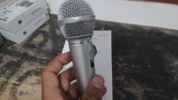 BLACK FRIDAY Último Microfone Lelong Para Karaoke Com Cabo 2,5m