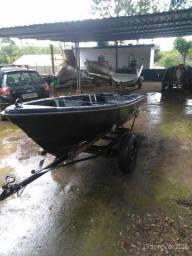 Barco de fibra.