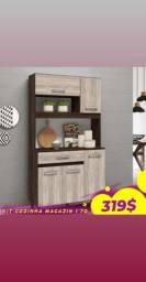 Armário de cozinha 4 portas promoção!!