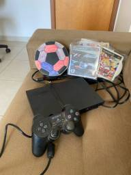 PlayStation 2 PS2 com mais de 50 jogos