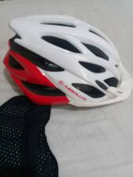 Conjunto completo para Bike Capacete Bermuda e Camisa