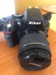 Câmera Nikon 5200 + Lente Nikon Fx 50mm F/1.8d [usado]