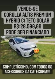 Corolla Altis Premium Hybrid com Teto
